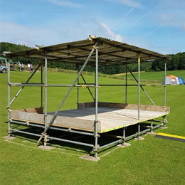 Scaffolding for events in sussex and hampshire
