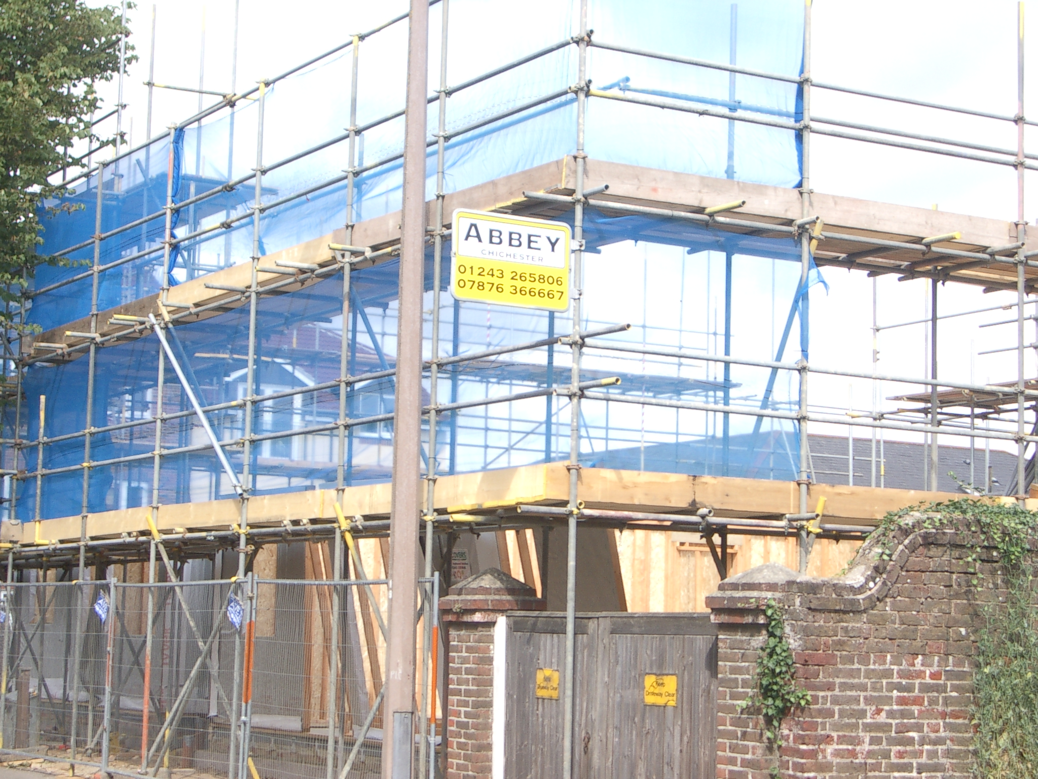 Commercial Scaffolding in Sussex and Hampshire