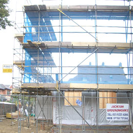 Commercial Scaffolding in Sussex